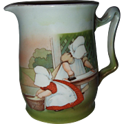 Royal Bayreuth Sun Bonnet Cream Pitcher