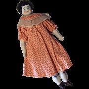 German Hertwig China Head Doll