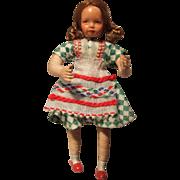 Early, Miniature, Dollhouse, German, Caco Doll