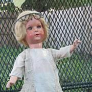 Rare 1920s Flapper Bisque Head Closed Mouth 449 original body Doll