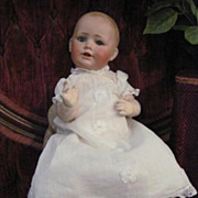 SALE ADORABLE Antique Kestner Baby Jean German Bisque Character Baby Doll Dome Head