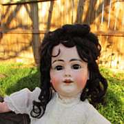Rare Antique Bisque Head French Market Kuhnlenz Character 56-34 Doll