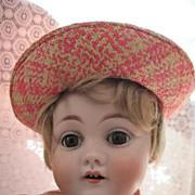 SALE Darling Antique Kestner 143 Bisque Head Character Doll