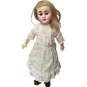 Delightful Early Sonnenburg Germany Bisque Head Doll
