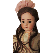 "SALE Big 29"" Beautiful Alt Beck Gottschalk ABG 1362 Sweet Nell Antique Bisque Head Doll T"