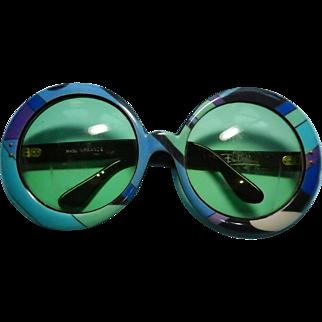 Vintage Pucci Glasses Mod Bold 60s