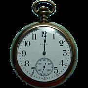 1915 Gold Filled Elgin Pocket Watch Size 12 Grade 311 TLC