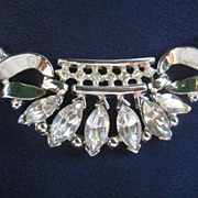 Vintage Trifari Coronet Necklace from 1950 - Designed by Alfred Philippe