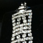 SALE Vintage Signed WEISS Rhinestone Bracelet - Stunning