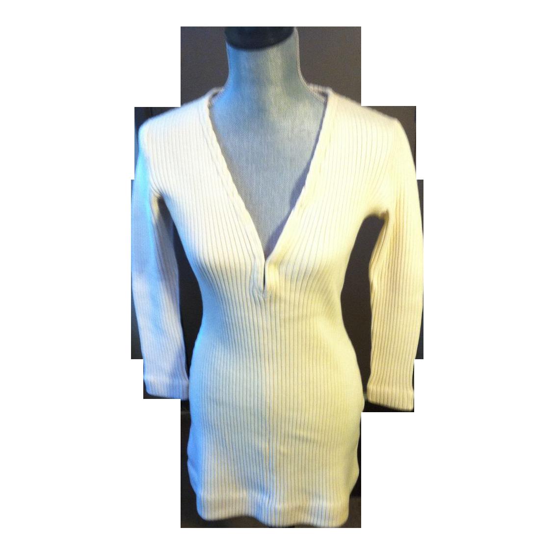 Vintage Rudi Gernreich Wool Knit Dress - FABULOUS!