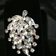 WEISS Bold Statement Brooch - Signed