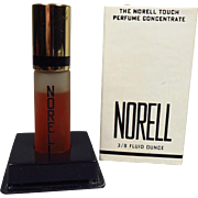 SALE PENDING Vintage Norell Touch Tip Perfume Concentrate 3/8 oz Mostly Full with Box