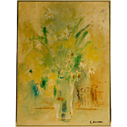 Oil Painting by Edwin Eugene Herron, WPA Artist