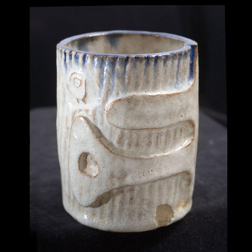Studio Pottery by Bob Nash (1918-2008), bohemian artist of Big Sur