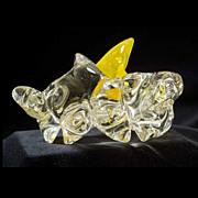 Brad Abrams Free-form Glass Sculpture, c.1995