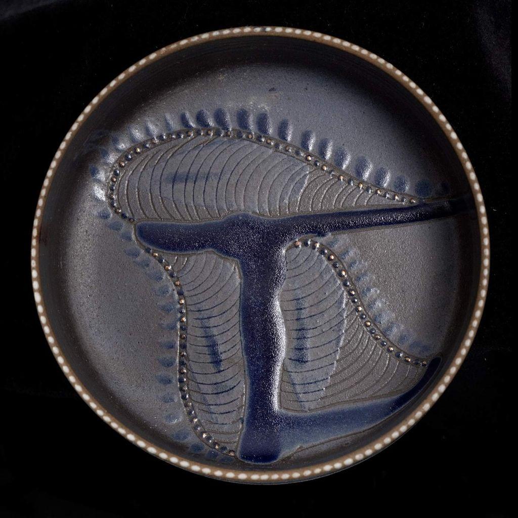 Vintage Israeli Modernist Ceramic Bowl