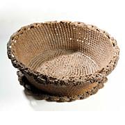 Vintage Folk Art Basket
