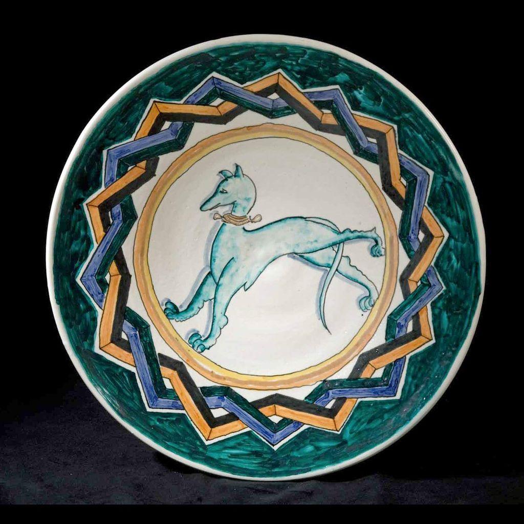Vintage Italian Ceramista D'Art 1970's Platter