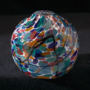 Exceptional Fire Island Studio Glass Vase