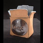 "Marilyn Stiles Ceramic Art ""Box"" Clay Sculpture"