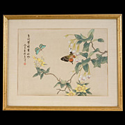 Japanese Tempera Painting