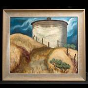Kay Works Oil Painting, c. 1952