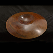 Sherril Broudy Mid Century Turned Redwood Bowl, Forms + Surfaces
