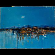 Augusto Jenner Mid Century Modernist Painting