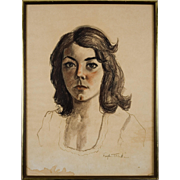 SALE PENDING Royden Martin Pastel Portrait