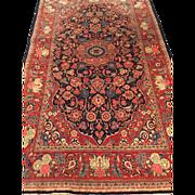 "SALE Finely woven Persian KASHAN Oriental Rug, Handmade  4'8"" X 7'7""-Free appraisal"