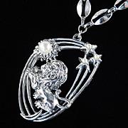 Tortolani Zodiac Astrological Necklace