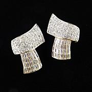Maresca Rhinestone Earrings