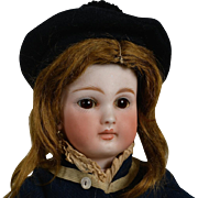 All Original Sonneberg French Look-a-like Doll-13.5 Inches