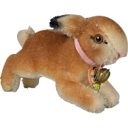 "Steiff Mohair ""Hoppy"" Rabbit - 4 inches long"