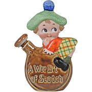 Schafer & Vater Figural Flask - A Wee Bit of Scotch