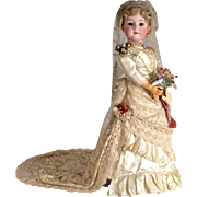 Wonderful Large Walkure Bride Doll - 32 Inch