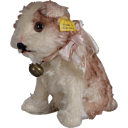 Steiff Mohair Molly Dog - 3.5 inches