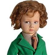Lenci Felt Boy Doll - 17 Inches