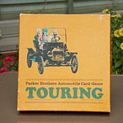 SALE Vintage 1965 Parker Brothers TOURING Card Game