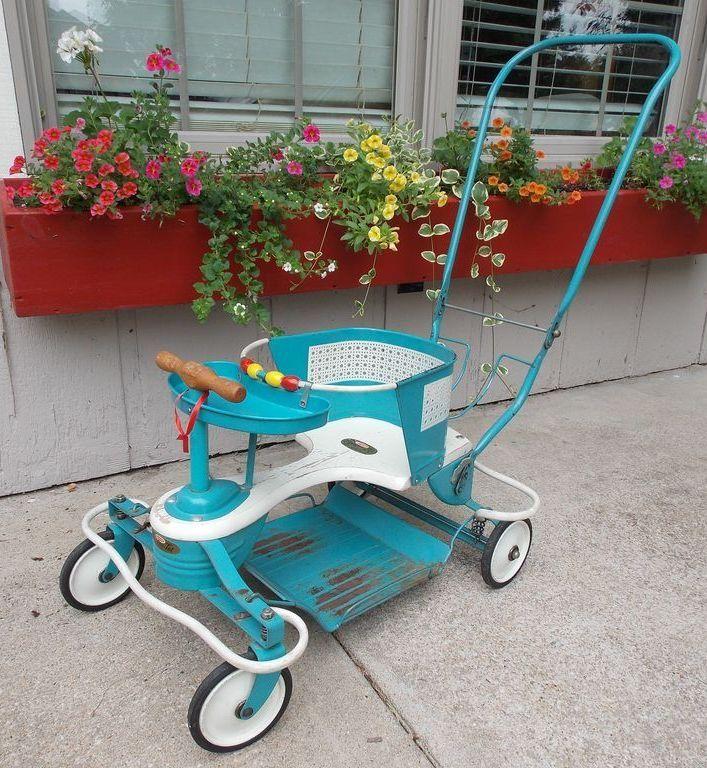 Mid Century Vintage Genuine Taylor Tot Baby Stroller Walker From Rubylane Sold On Ruby
