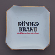 Vintage Konigs Brand Bavarian Beer Ashtray