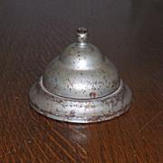 SALE Vintage Steel Desk Hotel Bell