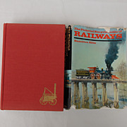 SALE Reduced Shipping! Hardbound The Pictorial Encyclopedia of RAILWAYS Ist Edition, Fourth ..