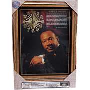 SALE Vintage NIB Dr. Martin Luther King Jr. Clock