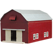 SALE PENDING Vintage Model Barn with Moving Doors, Removable Roof and Indoor Stairs and Loft