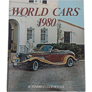 World Cars 1980 Automobile Club of Italy Herald Books