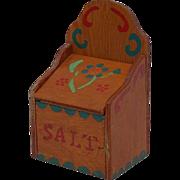 Classic 50's Shop Class Built and Painted Salt Box