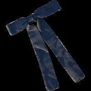 SOLD Shepler's Mens Black Rockabilly Western Neck Bow Tie