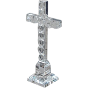 SALE Vintage Sorrell Crystal Cross