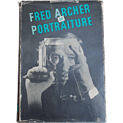 SALE 1st Edition First Print Fred Archer on Portraiture 1948